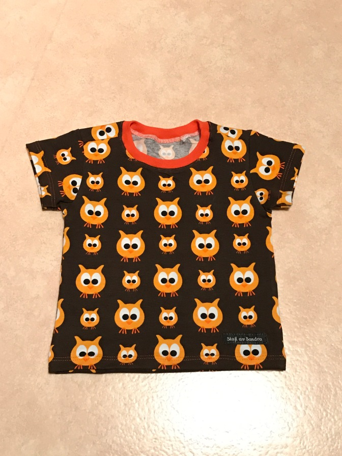 T-shirt i Family owl